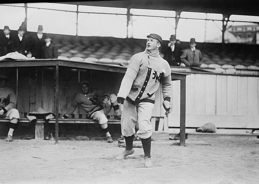 Christy Mathewson, 1910.