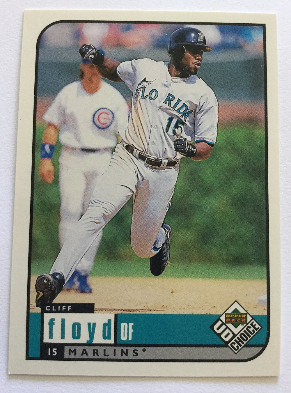 Cliff Floyd. Upper Deck Collector's Choice, 1999.