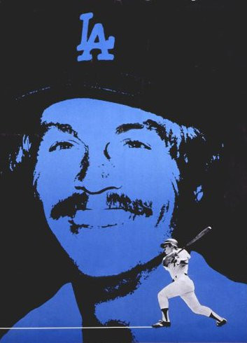 Cropped to show Ron Cey from a poster about Birth Control, really. Public Domain.
