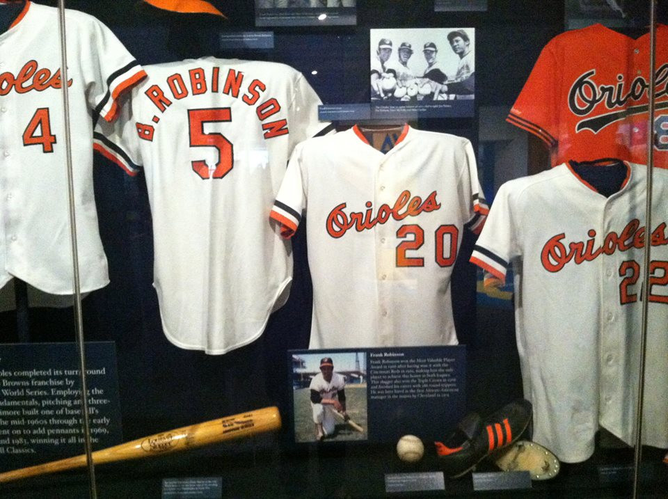 Orioles display at the Baseball Hall of Fame.  Picture by D.Talbot.