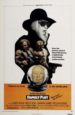 Family Plot, wink wink. Poster, 1976.