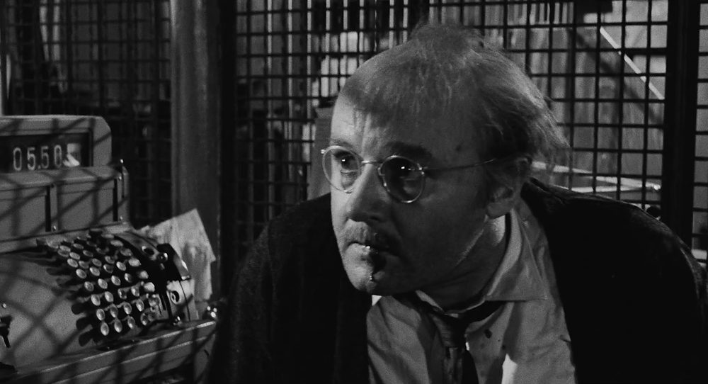 Rod Steiger in a screenshot from the trailer for The Pawnbroker, Public Domain, 1964.