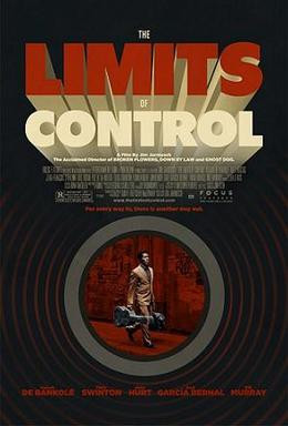 Unlike Bond, he doesn't need to shoot back down the barrel. He uses his imagination. Limits of Control Poster, Focus Features, 2009.