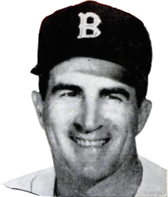 Johnny Pesky, 1963. Cover of Baseball Digest, Public Domain.