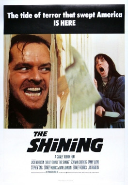 The Shining poster, 1980.