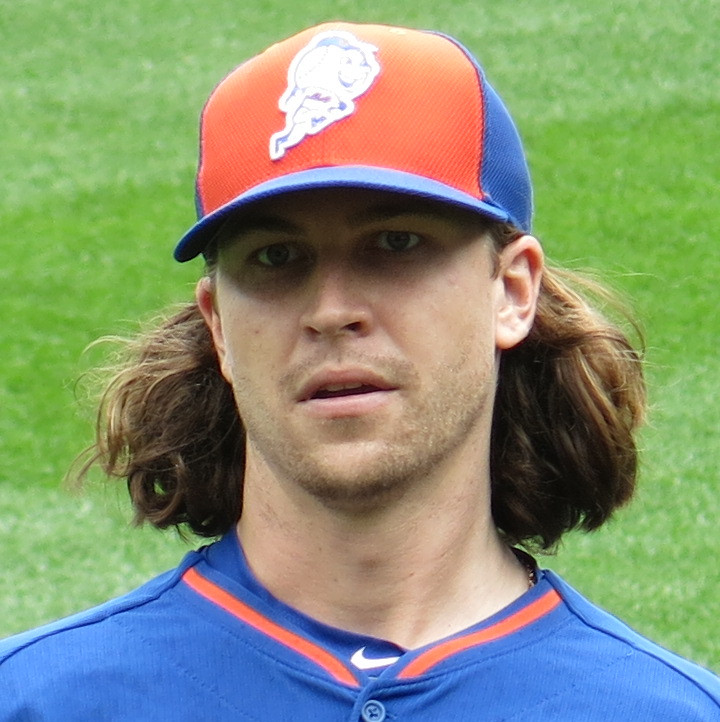 Jacob deGrom, 2016. Public Domain.