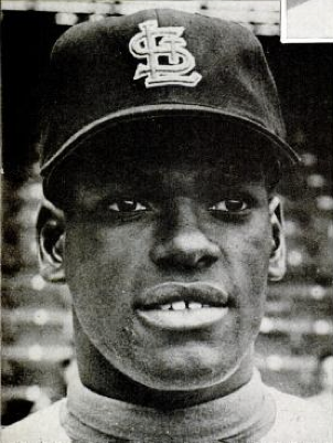 Bob Gibson in 1962. Public Domain.