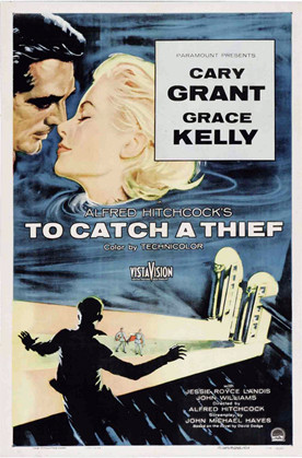 "Winner of ""Best Poster,"" I'm assuming. to Catch a Thief Poster, 1955."