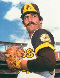 Rollie Fingers and his Hall of Fame mustache. Public Domain.