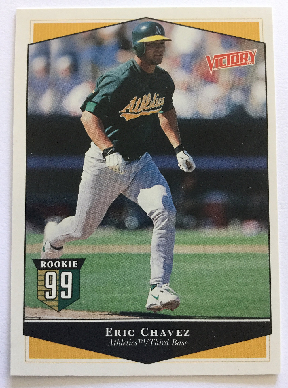 Eric Chavez. Victory Upper Deck, 1999.