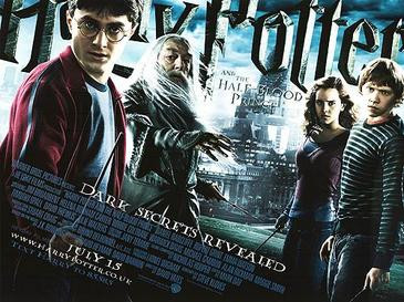 Harry Potter in all Dutch angles, even the credits.