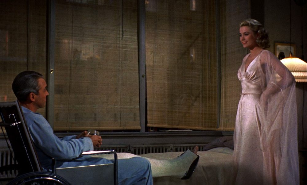 Rear Window trailer, 1954.