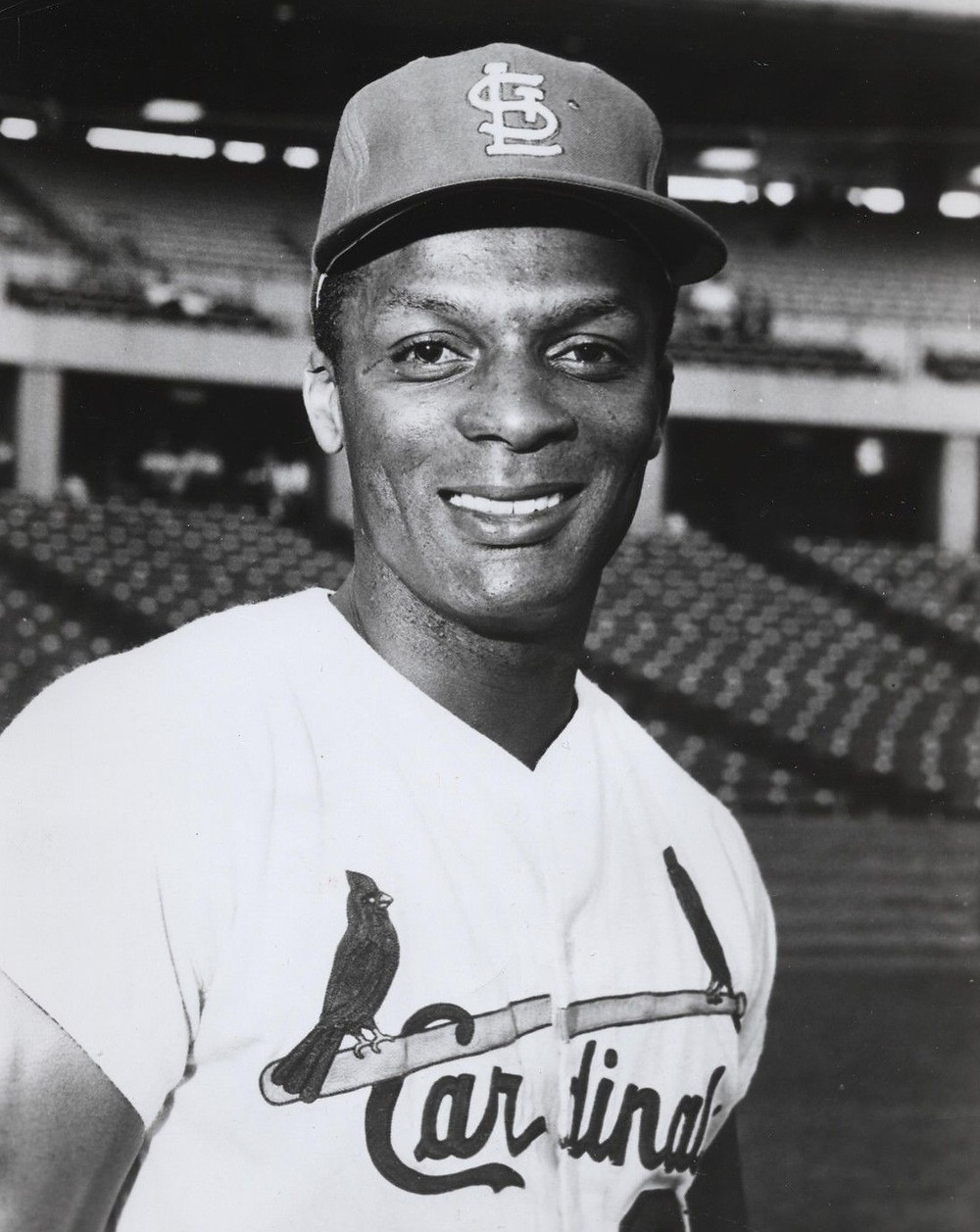 Curt Flood. Public Domain.
