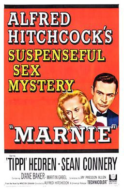Marnie Poster, 1964.
