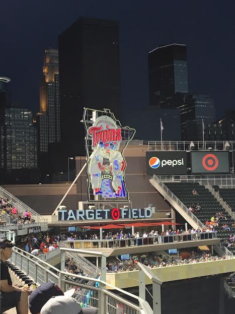 Target Field Skyline, 9/1/16.  D.Talbot.