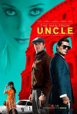 The Man From U.N.C.L.E poster, 2015.