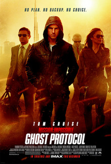 Mission: Impossible Ghost Protocol poster, 2011.