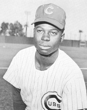 Lou Brock, 1964. Public Domain.