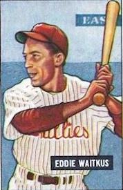 Eddie Waitkus, 1951.