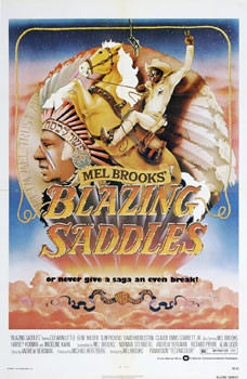 Staring Mel Brooks, Cleavon Little and a Horse.