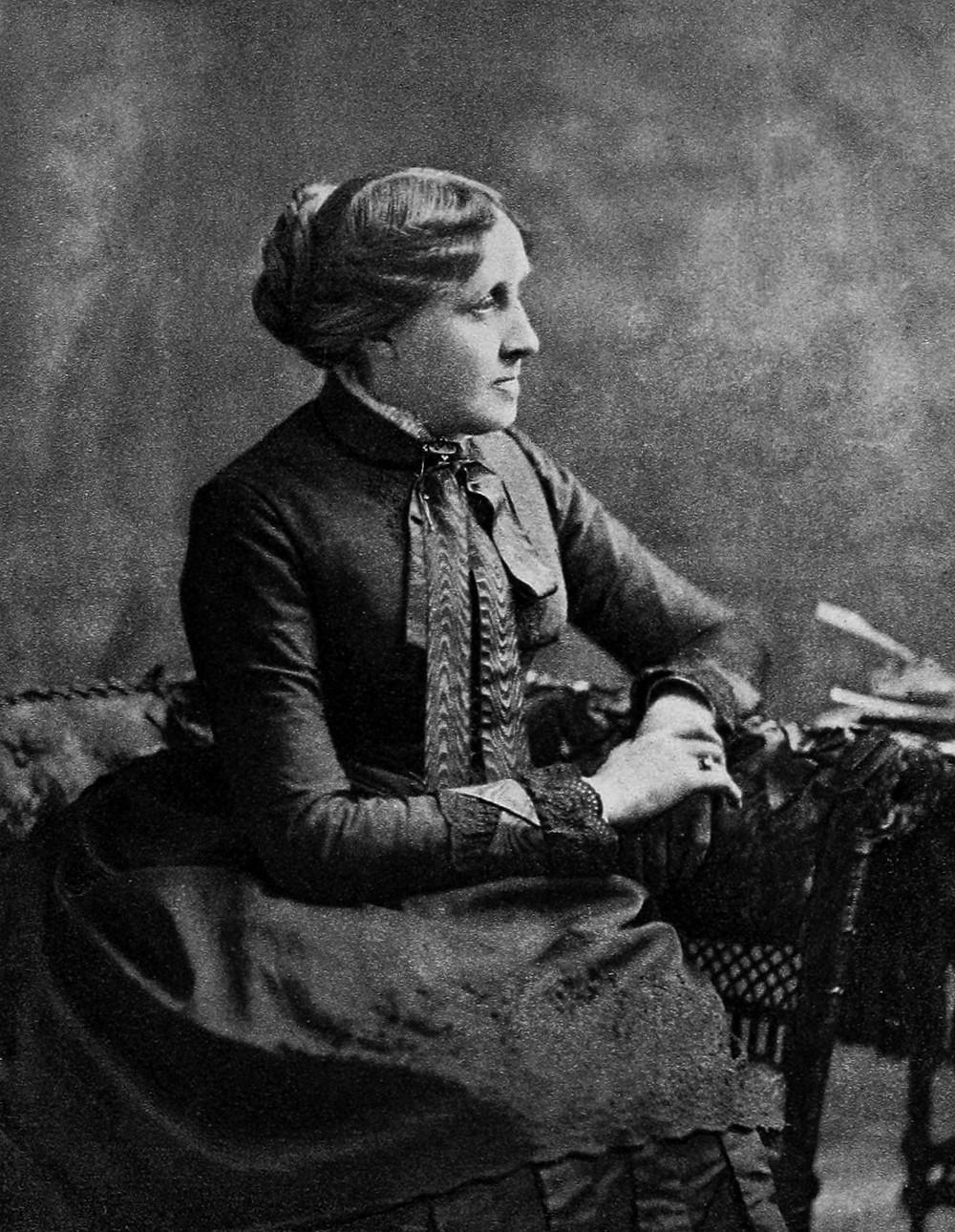 Louisa May Alcott, Public Domain.