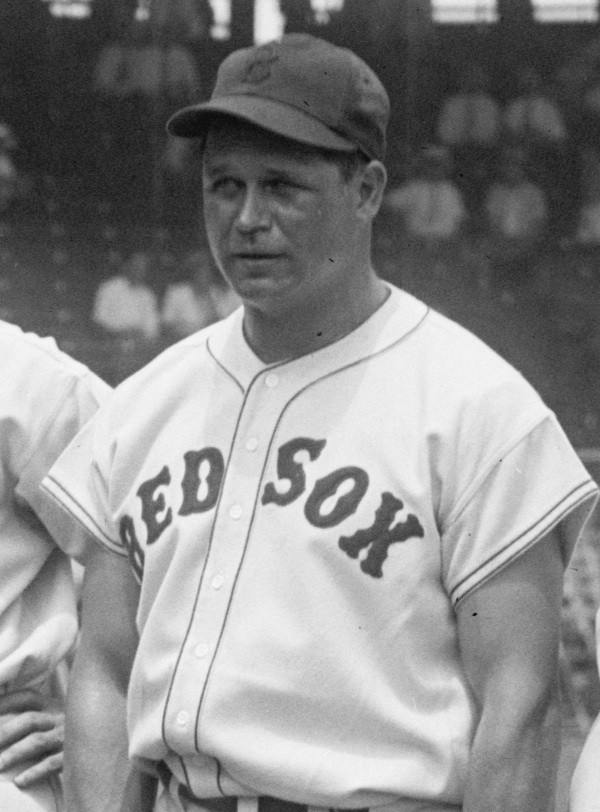 Jimmie Foxx in 1937. Public Domain.