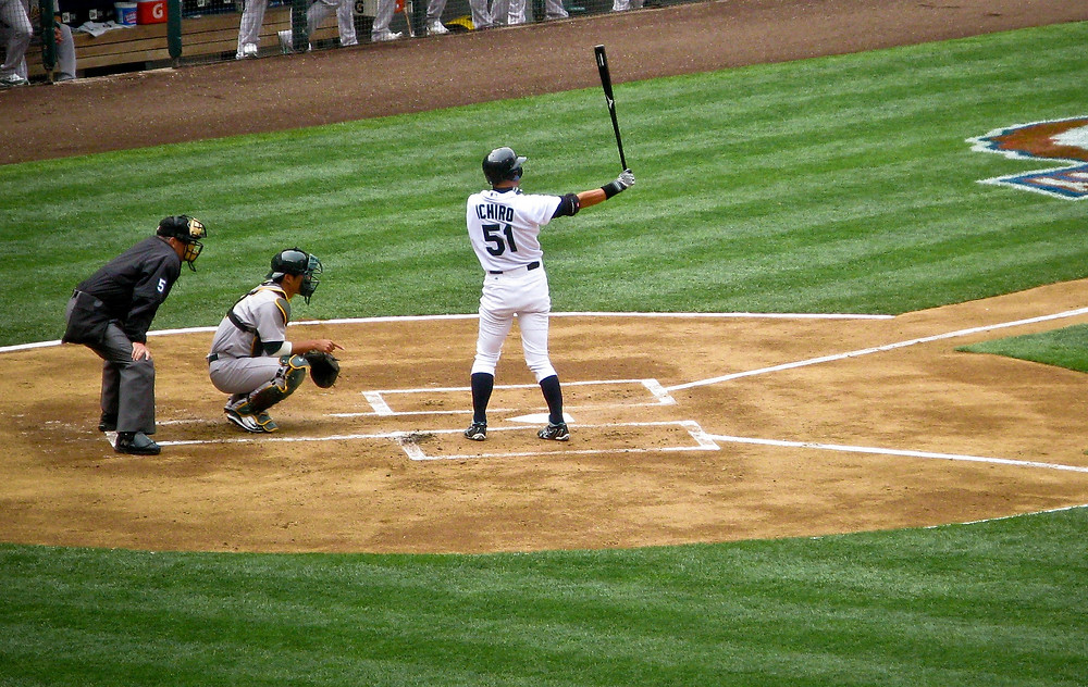 Ichiro Opening Day 2010. Picture by Dave Sizer.