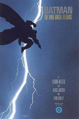 Batman can't fly. The Dark Knight Returns, 1986. Fair Use.