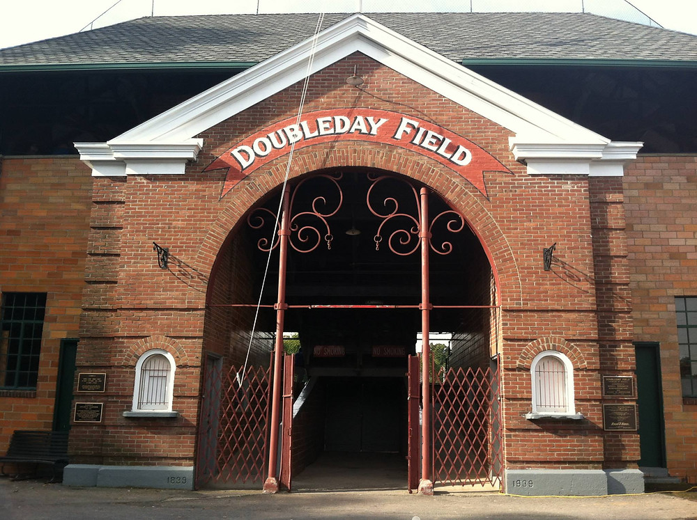 Doubleday Field, Cooperstown New York. Picture by DD Talbot, 2013.