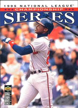 I believe that as a 13 year old I mailed away to get this special series of cards. Fred McGriff Upper Deck, 1996.