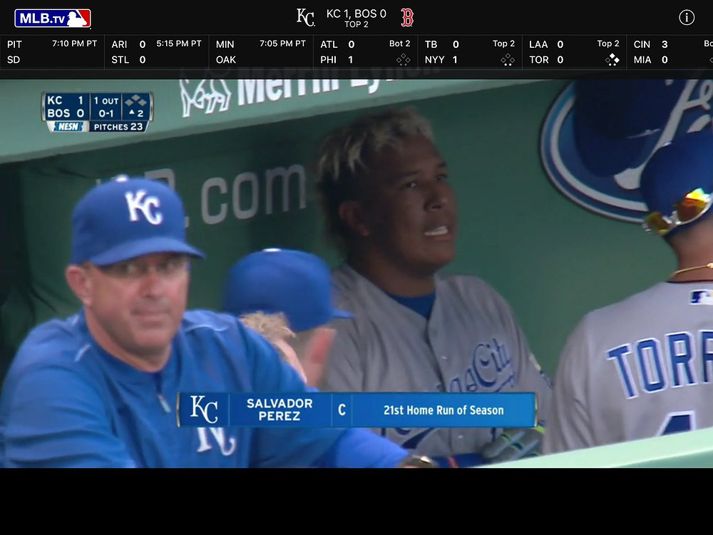 I can never resist Frankenstein Sal Perez.