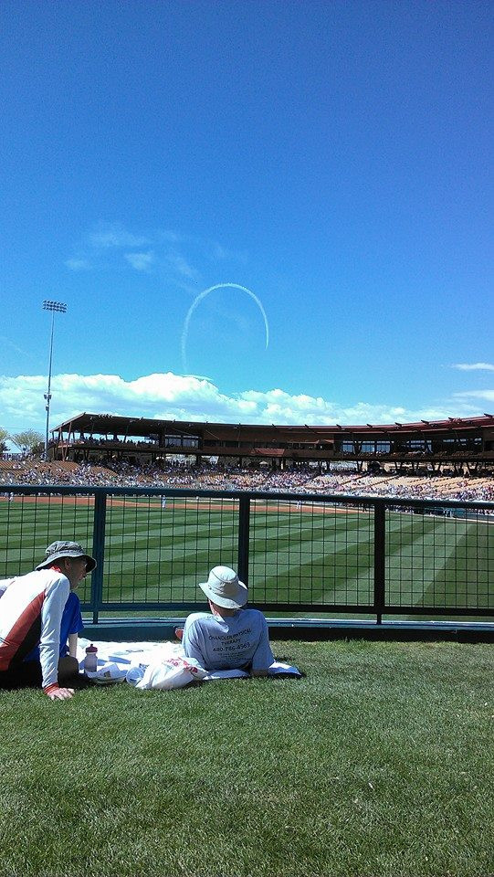 Camelback Ranch White Sox Spring Training, ca. 2012 or 2013.  PS Talbot