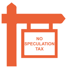 No speculation tax signage - PeachTree Village