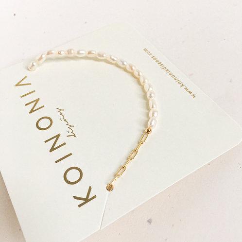 Collar  / Oro lamino de 18k