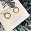 Thumbnail: Arete nido en tonos pasteles / Oro laminado 18k