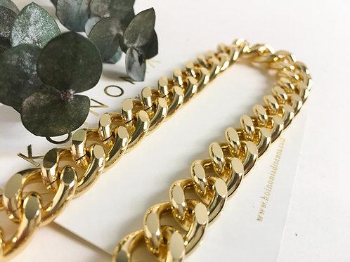 Collar JULI  / Oro lamino de 18k