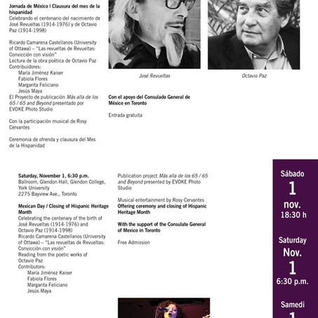Jornada de México: Clausura del mes de la hispanidad