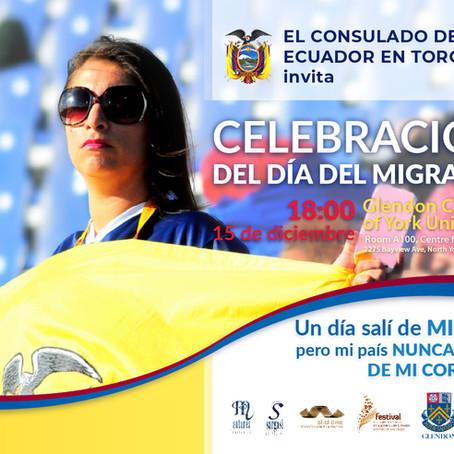 Invitation: Ecuadorian Migrant's Day
