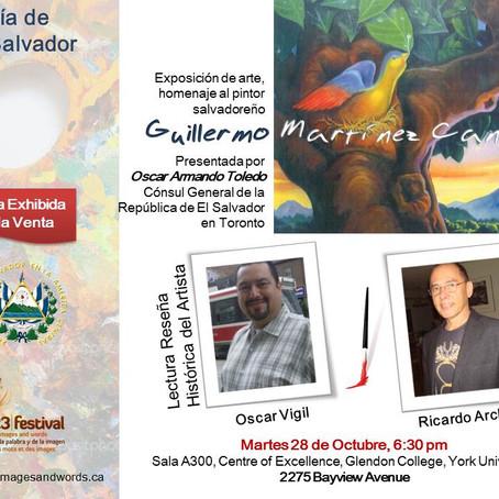 Invitación: El día de El Salvador