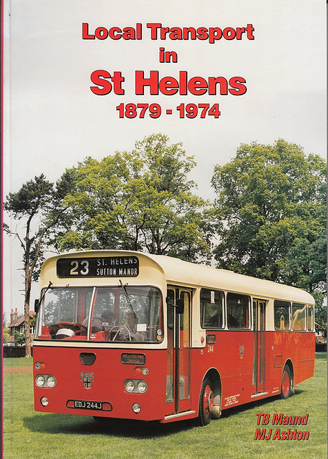 Local Transport in St Helens - 1879-1974