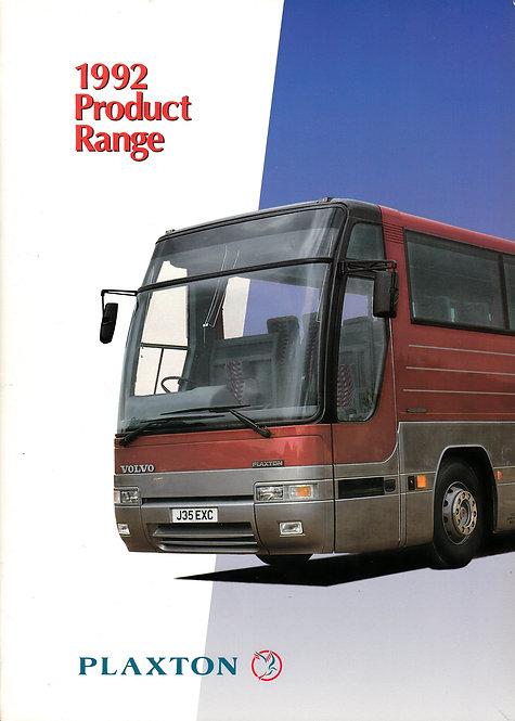 Manufacturer's Brochure - Plaxton