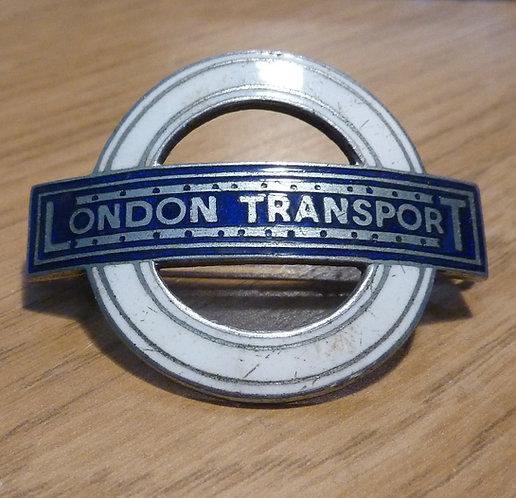 London Transport Cap Badge