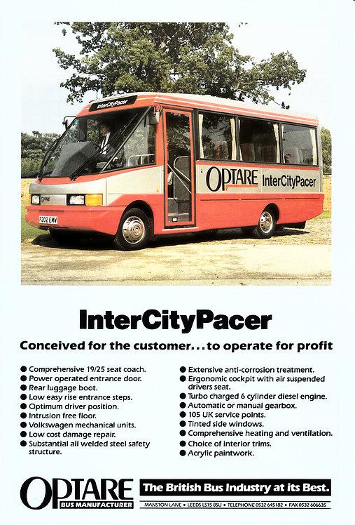 Manufacturer's Brochure - Optare