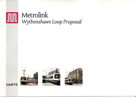 Metrolink Wythenshawe Loop Proposal - January 1994