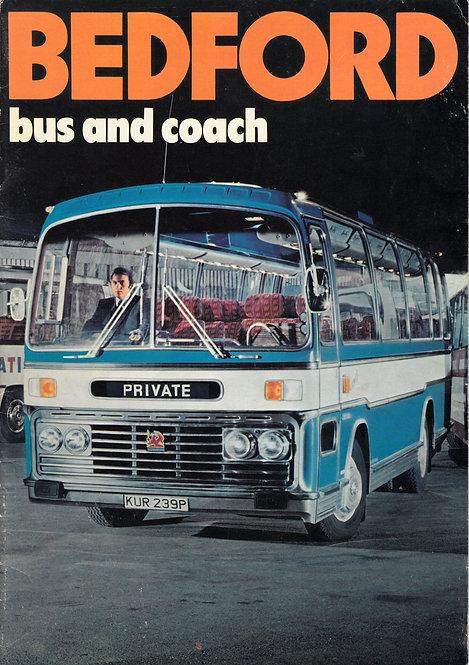 Manufacturer's Brochure - Bedford