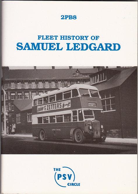Samuel Ledgard - Fleet History 2PB8