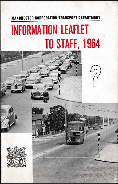Manchester City Transport Annual Report to Staff - 1964