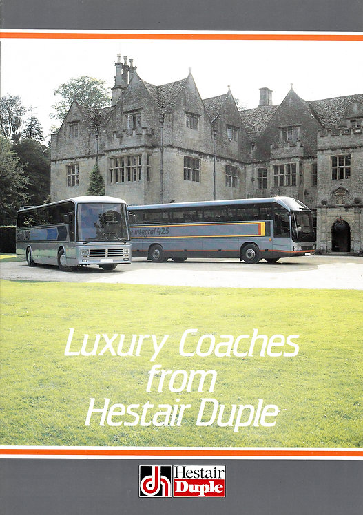 Manufacturer's Brochure - Hestair Duple