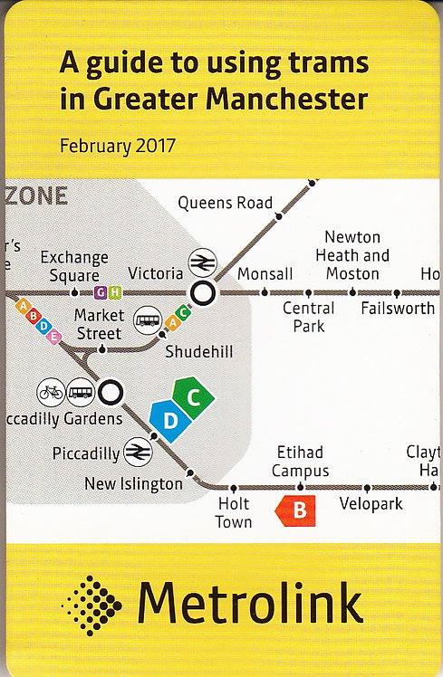 A Guide to Using Trams in Greater Manchester - February 2017