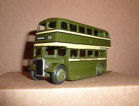 Vintage Dinky 290 - AEC Double Decker Bus (Salford)